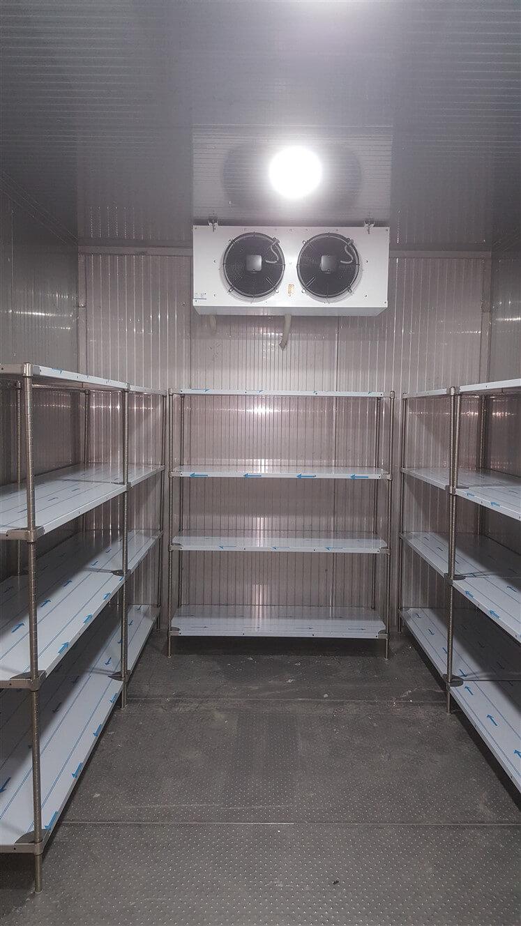 paslanmaz soğuk oda paneli